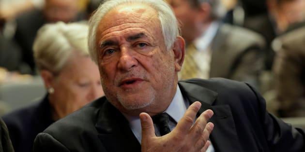 Dominique Strauss-Kahn, ici en avril 2017 dans les locaux du FMI à Washington, lance son club de réflexion.
