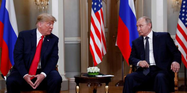Donald Trump (ici à Helsinki le 16 juillet) reconnaît l'ingérence des Russes dans la présidentielle 2016, après avoir dit à Vladimir Poutine qu'il le croyait.
