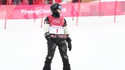 L'Olympien québécois Max Parrot combat un