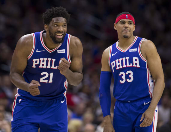 Joel Embiid tries to lure teammate back to Philly