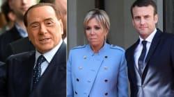 La battuta di Berlusconi sulla moglie di Macron è tra le più infelici di