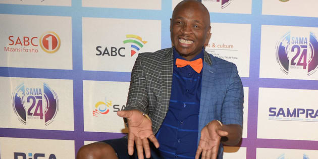 Dr Malinga arrives at the 24th annual South African  Music Awards  June 02, 2018.
