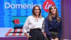 Benedetta Parodi lasciaDomenicaIn: