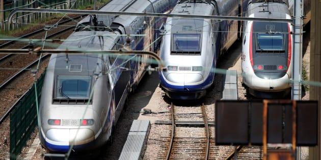 """Les emblématiques TGV de la SNCF vont être rebaptisés """"InOui"""" dès cet été."""