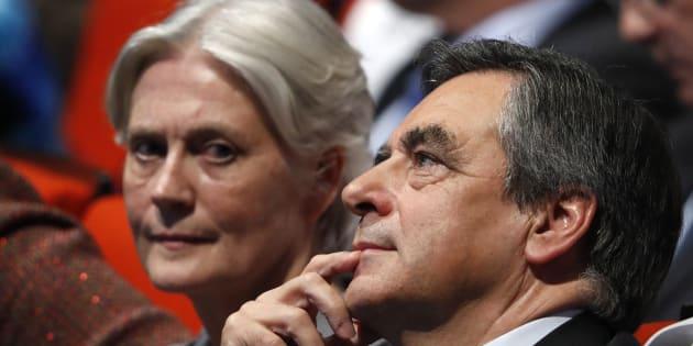 Penelope Fillon au côté de son époux François Fillon