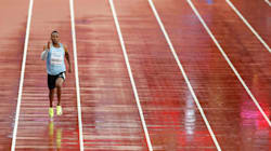 Sidelined By A Virus, Botswanan Sprinter Runs Solo At Athletics
