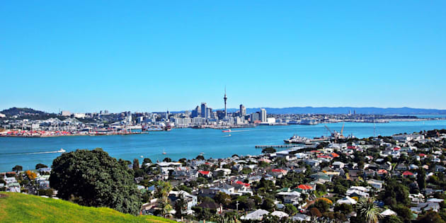 The Auckland, New Zealand, skyline as seen from the suburb of Devonport. New Zealand's ban on non-residents buying most types of homes has some people calling for Canada to follow the move.