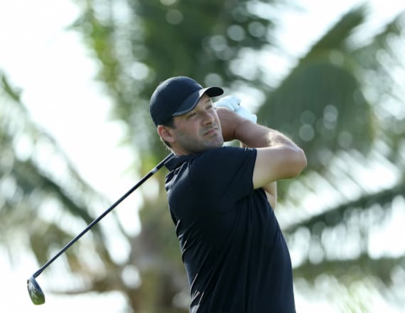 Tony Romo's debut on the PGA Tour goes off the rails