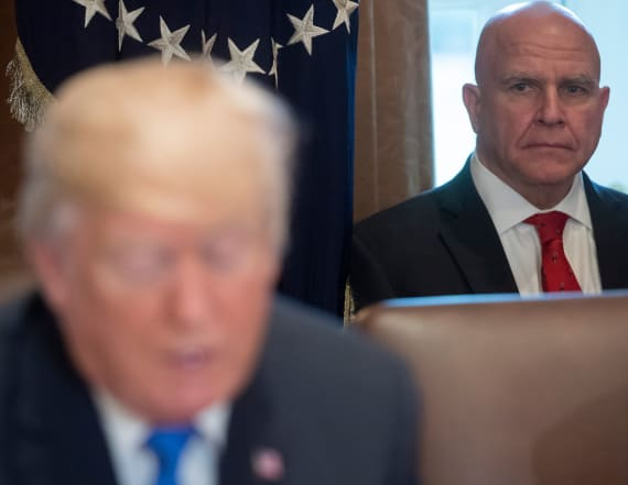 Trump ousts McMaster as national security adviser