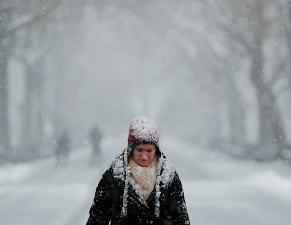 Dangerous snow squalls to hit large swath of US
