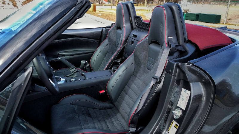 2018 Mazda Miata gets wonderful new leather Recaro seats