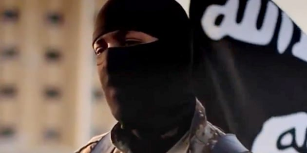 Une capture d'écran d'une vidéo de propagande de Daech diffusée en octobre 2014