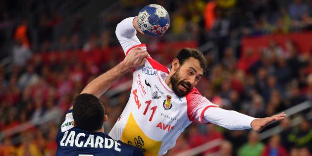 Les handballeurs français ont été éliminés en demi-finale de l'Euro par l'Espagne ce 26 janvier 2018.