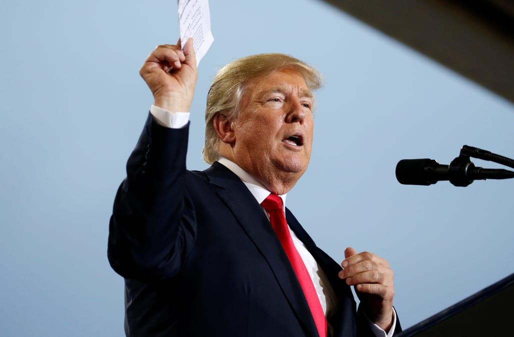 Trump Signs Order To Weaken Obamacare Boost Bare Bones