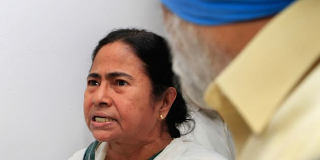 A file picture of West Bengal chief minister Mamata Banerjee.