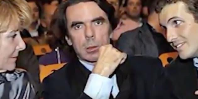 Aguirre, Aznar y Casado