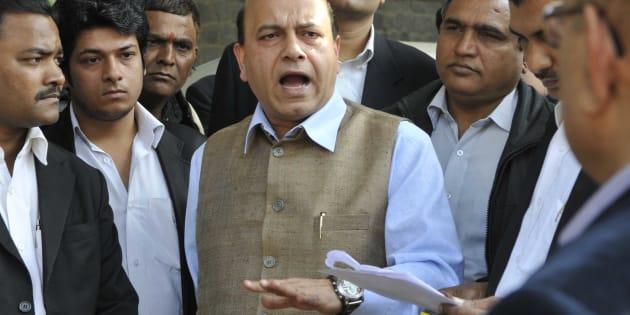 BJP leader Vijay Jolly.