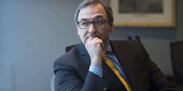 Martin Cauchon, propriétaire de Groupe Capitales Médias, obtient un prêt de 10 M$ pour la transition numérique de ses journaux. (LA PRESSE CANADIENNE/Graham Hughes)