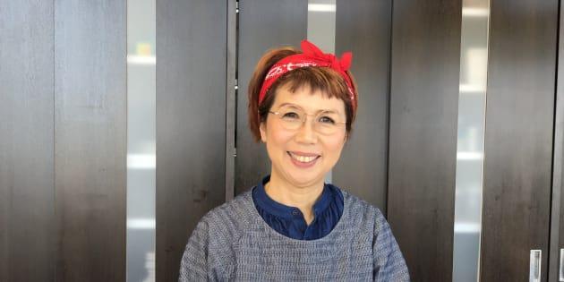portrait of Mayumi Nishimura
