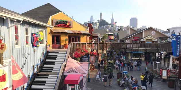 Le FBI déjoue un attentat prévu à Noël sur le très touristique Pier 39 de San Francisco