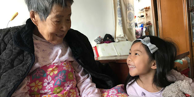 My daughter with my grandmother, three months before she passed. I'm so thankful that they had an opportunity to meet and bond. None of this would've been possible if my daughter didn't speak Mandarin.