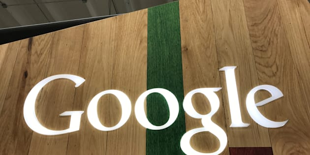 A Google logo is seen in a store in Los Angeles, California, U.S., March 24, 2017. REUTERS/Lucy Nicholson