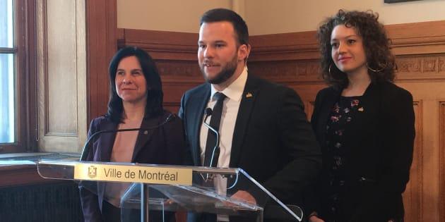 Hadrien Parizeau ne siégera plus en tant qu'élu d'Ensemble Montréal