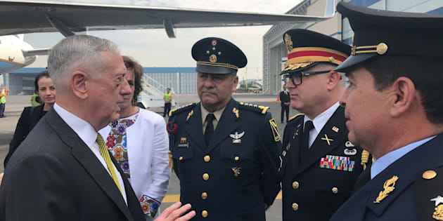 Secretario de Defensa de EEUU busca calma relación con México