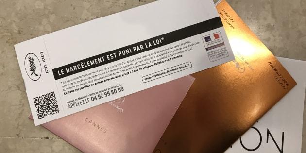 """Le carton lancé pour l'initiative """"#nerienlaisserpasser"""""""