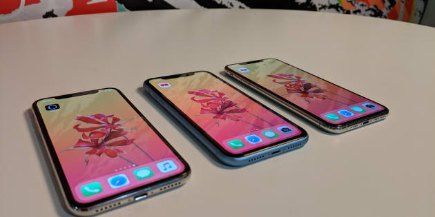 Le test comparatif de l'iPhone XR face aux iPhone XS et XS Max
