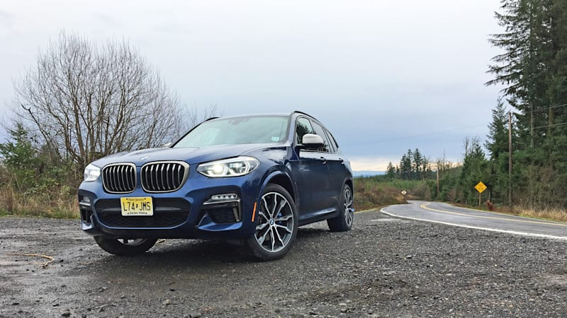 2018 bmw x3 m40i quick spin review autoblog. Black Bedroom Furniture Sets. Home Design Ideas