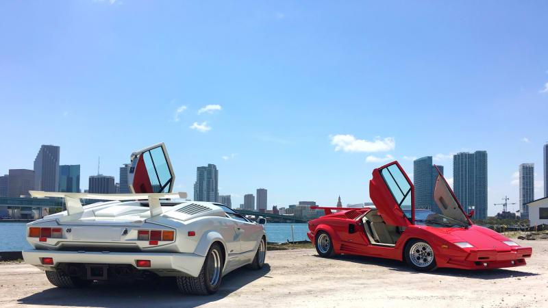 1989 Lamborghini Countach In Miami Autoblogvr Autoblog