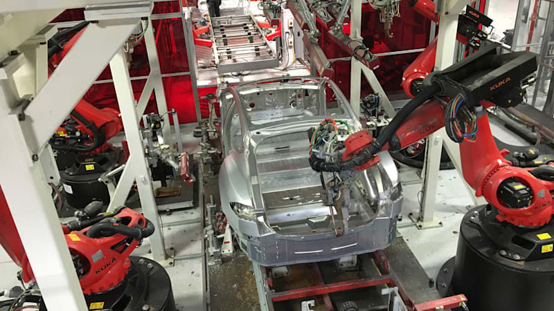 photo image Does Elon dream of electric robots?