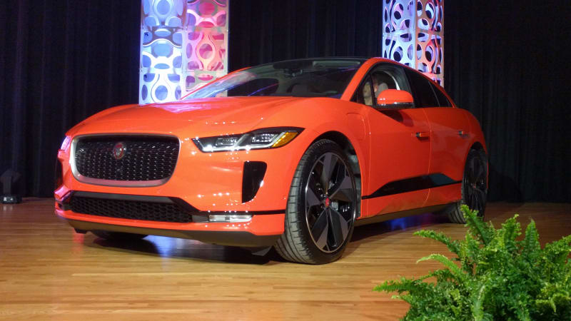 Jaguar I-Pace named World Car of the Year