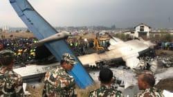 L'écrasement d'un avion au Népal fait au moins 50