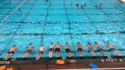 Winnipeg Dads Of The Year Form A Synchronized Swimming