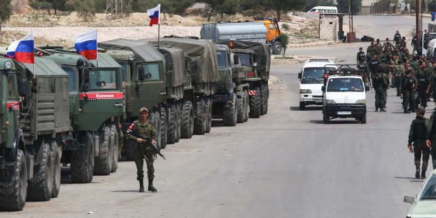 Trump lancia un duro attacco in Siria con Francia e Gran Bretagna