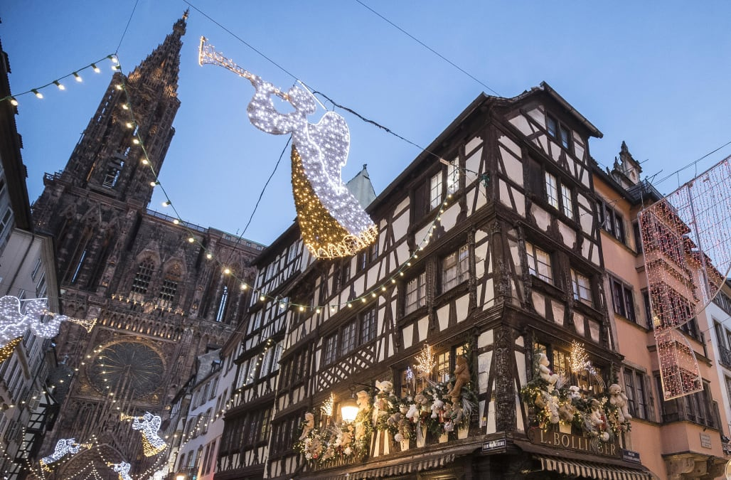 Strasbourg Christmas Market Shooting.Fifth Person Dies From Mass Shooting Near Strasbourg