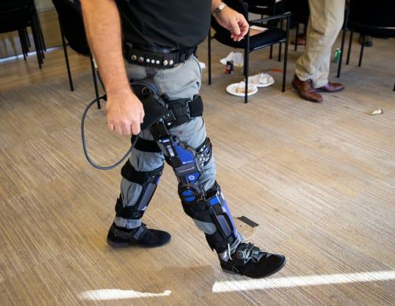 Pentagon invests in 'super-soldier' exoskeletons