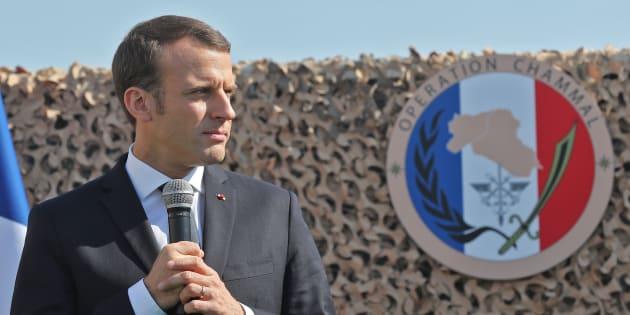 Au Qatar, Emmanuel Macron met les pieds dans le plat du financement du terrorisme