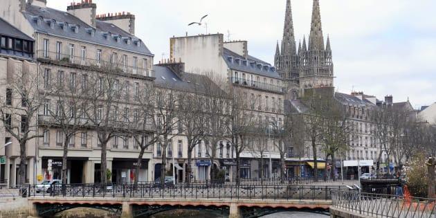 Pourquoi la loi Elan inquiète tant Stéphane Bern (Photo d'illustration: le centre de Quimper).