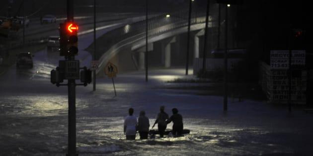 L'ouragan Harvey a touché le Texas au mois d'août.