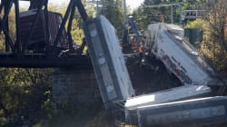 Freight Train Derails In Quebec, Sending Empty Cars Into