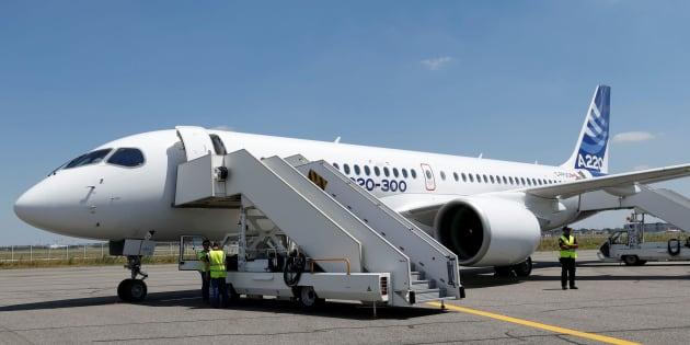 Le nouveau Airbus A220-300 remplacera la famille CSeries de Bombardier.