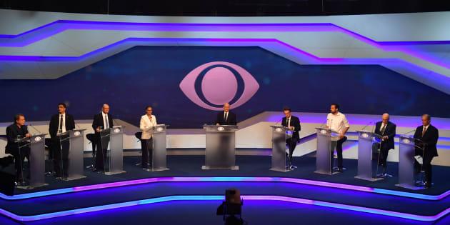 O debate da Band foi o primeiro confronto entre os candidatos à Presidência nas eleições 2018.