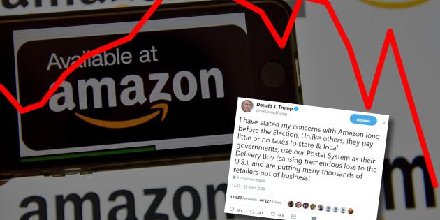 Ce tweet de Donald Trump sur Amazon n'a vraiment pas plus à la bourse