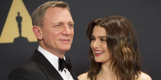 Daniel Craig et Rachel Weisz le 14 novembre 2015.