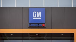 General Motors Workers On Strike At Ontario