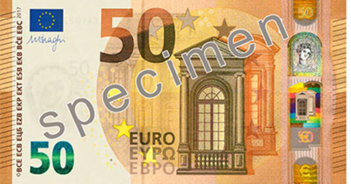 Nouveau Billet De 50 Euros Comment Reperer Un Vrai D Un Faux Le