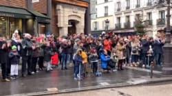 Après l'explosion à Paris, cet hommage surprise des habitants a ému les